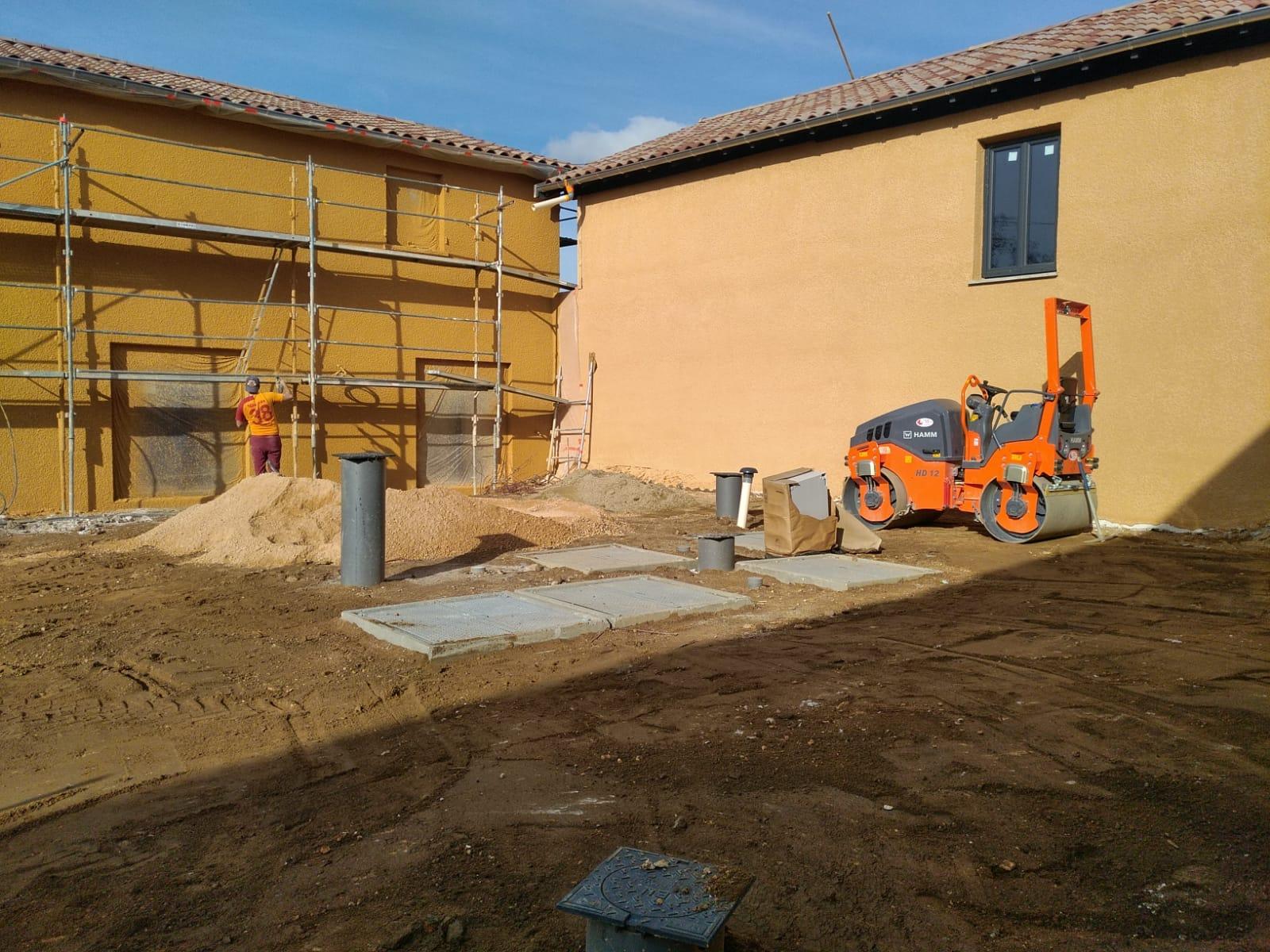 renovation ferme au carré